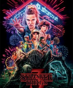x_pp34532 Stranger Things poszter - Summer of 85 61 x 91 cm