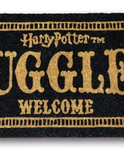x_sdtwrn22194 Harry Potter lábtörlő - Muggles Welcome 43 x 72 cm