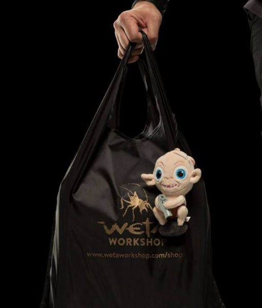 x_weta865102571 Lord of the Rings Carry-Cature Plush Bag Clip - Gollum