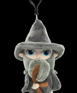 x_weta865102572 Lord of the Rings Carry-Cature Plush Bag Clip - Gandalf