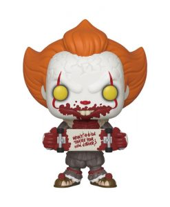 x_fk40628 Stephen King's It 2 Funko POP! figura - Pennywise Skateboard 9 cm