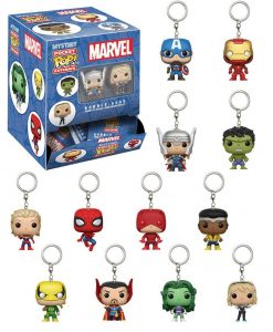 x_fk21155 Marvel Comics Funko Pocket POP! Mystery Kulcstartó 5 cm