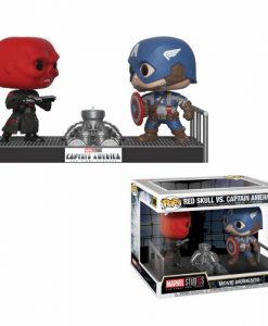 x_fk32880 Marvel Funko POP! Movie Moments Figura 2-Pack - Captain America & Red Skull 9 cm