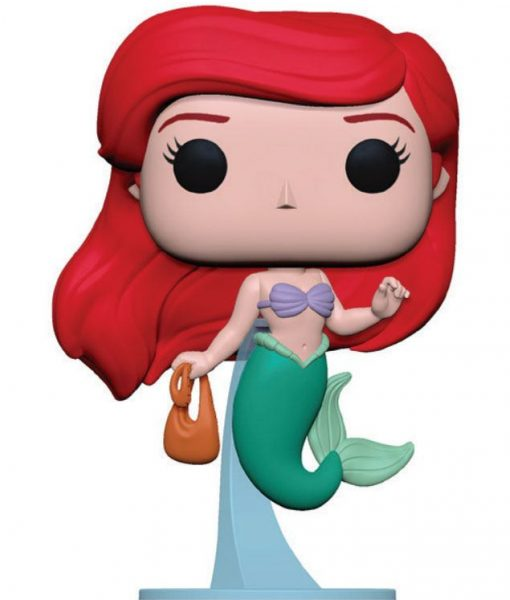 x_fk40102 The Little Mermaid Funko Disney POP! figura - Ariel w/ Bag 9 cm