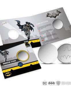 x_rdm20016 Batman Tükör / Mirror Pénzérme / Coin Bat-Signal