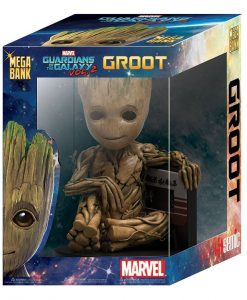 x_bbsmo13 Marvel Comics Guardians of the Galaxy 2 Persely - Baby Groot 25 cm