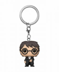 x_fk42257 Harry Potter Funko Pocket POP! kulcstartó - Harry (Yule Ball) 4 cm