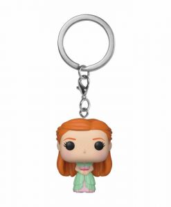 x_fk42258 Harry Potter Funko Pocket POP! kulcstartó - Ginny (Yule) méret ~ 4 cm