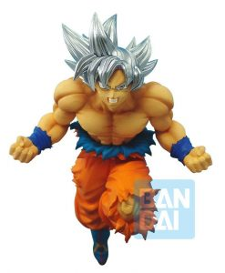 x_banp85189 Dragonball Super Z-Battle PVC Szobor - Ultra Instinct Son Goku 17 cm
