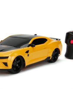 x_jada30332 Transformers The Last Knight RC Car 1/16 - 2016 Chevy Camaro Bumblebee