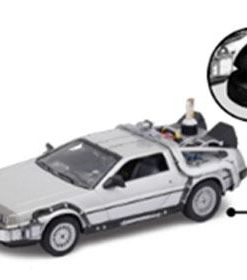 x_well22441fv-w Back to the Future II Diecast Model 1/24 - ´81 DeLorean LK Coupe Fly Wheel